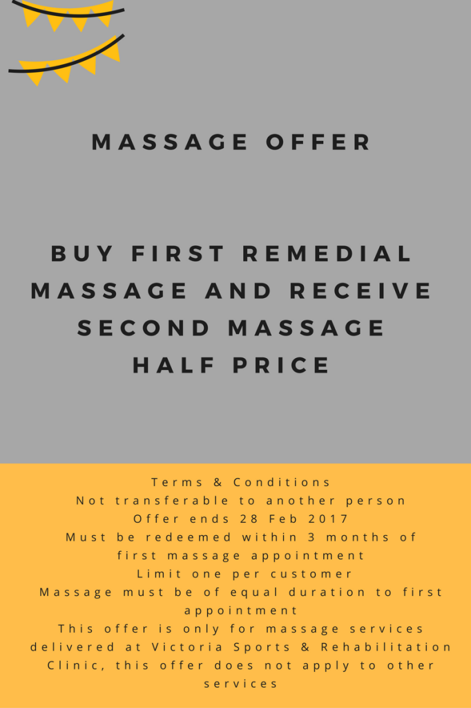 Remedial Massage Offer
